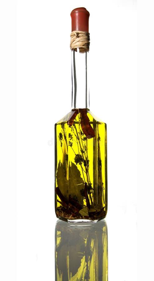 масло приправленное бутылкой стоковое фото rf