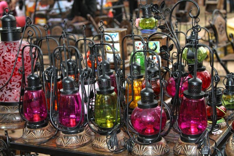 масло цветных ламп стоковые фото