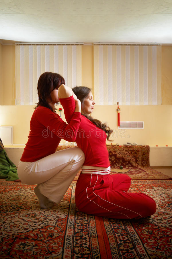 массаж тайский стоковые фото