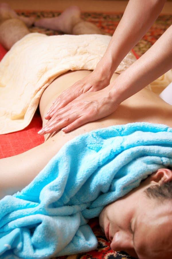массаж тайский стоковая фотография
