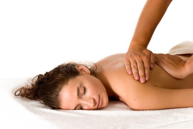 массаж стоковое фото rf