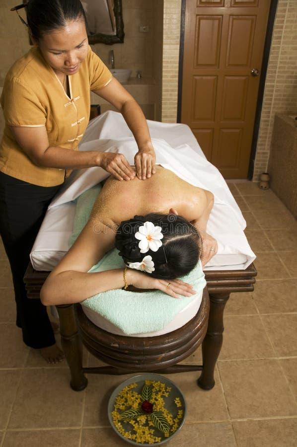 массаж 6 тайский стоковая фотография
