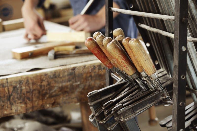 Мастерская плотника стоковая фотография