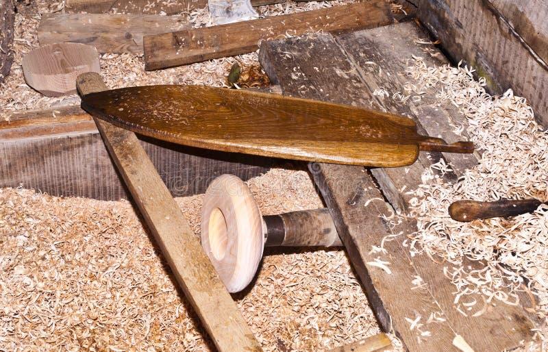 Мастерская плотничества стоковое фото rf