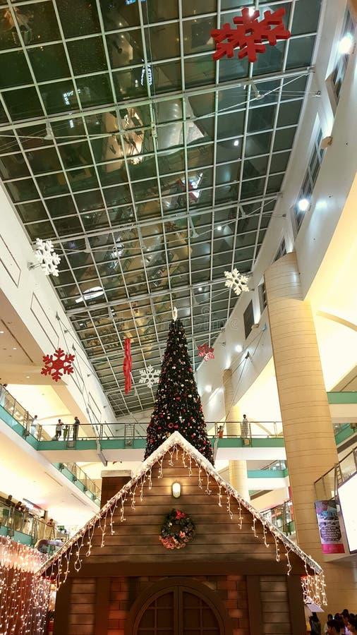Мастерская Санта Клауса стоковое изображение