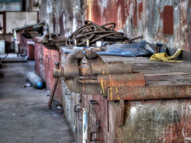 мастерская fix стоковое фото rf