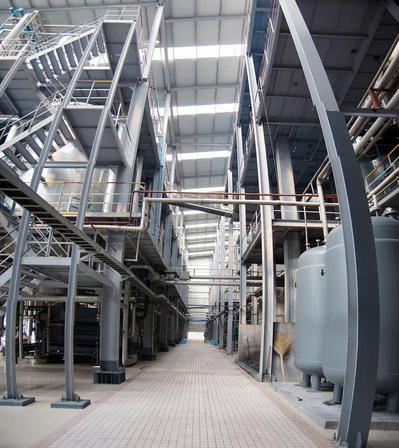 мастерская petrochemical индустрии стоковое фото rf