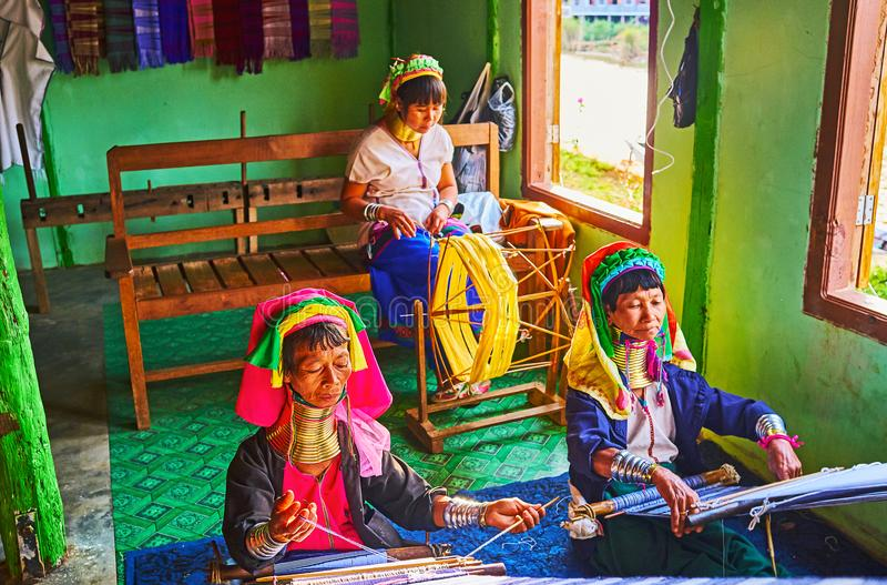 Мастерские на озере Inle, Мьянме стоковое изображение