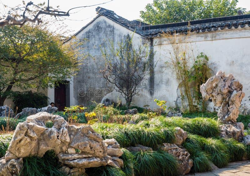 Мастер сетей садовничает юани Wang Shi, Сучжоу, Китай стоковая фотография