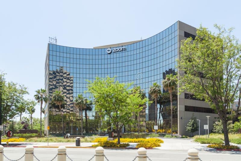 Масштабирование штаб-квартиры компании в Силиконовой долине стоковые фото