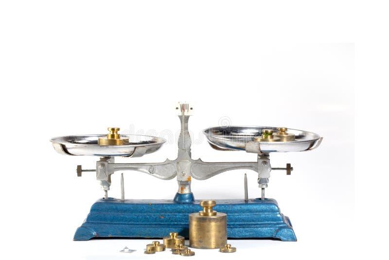Масштабы веса нержавеющей стали с весить плиты для весить стоковая фотография rf
