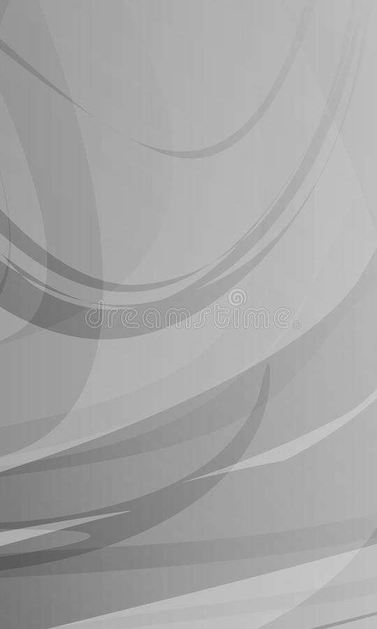 Масштаб абстрактного вектора серый затенял волнистую предпосылку, обои, иллюстрацию вектора иллюстрация штока