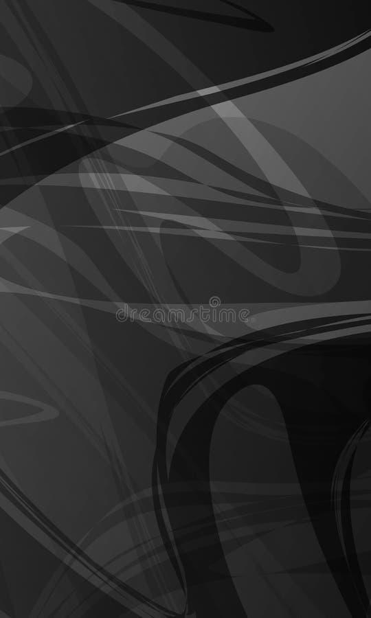 Масштаб абстрактного вектора серый затенял волнистую предпосылку, обои, иллюстрацию вектора бесплатная иллюстрация