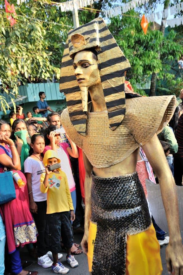 Масленица 2015 Cochin стоковое фото rf