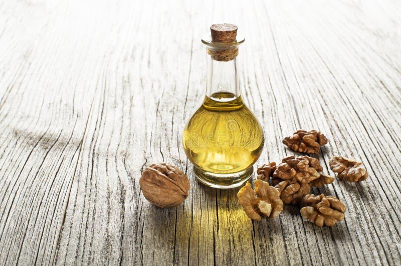 Масло грецкого ореха стоковое фото rf