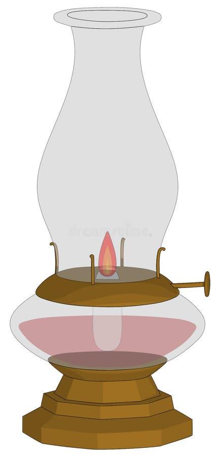 Масляная лампа бесплатная иллюстрация