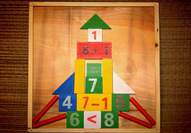 математика дома стоковая фотография rf