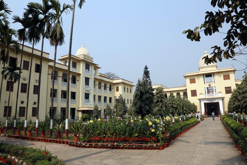 Математика Belur, штабы полета Ramakrishna в Kolkata стоковое фото rf