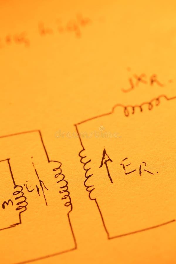 Математически текст стоковые изображения rf