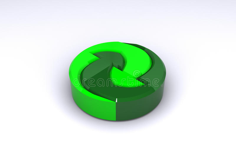 материалы логоса recyclable бесплатная иллюстрация