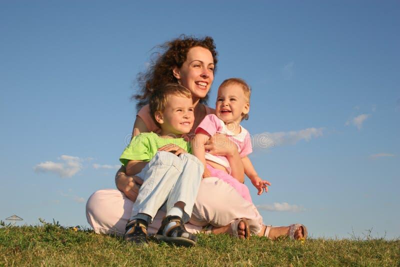 мать детей стоковое изображение rf