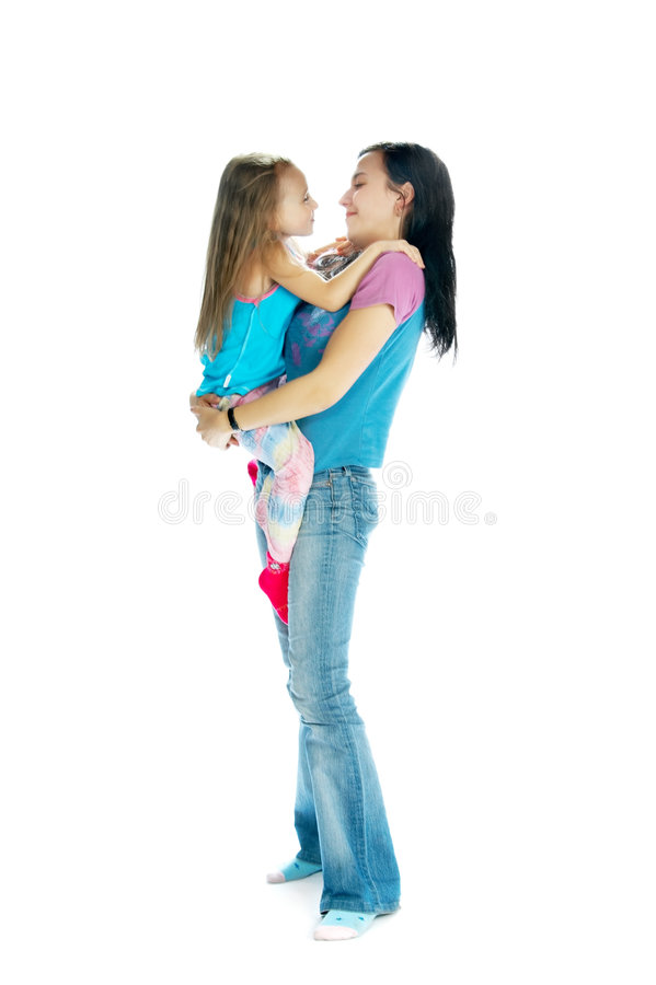 Мать и дочь стоковые изображения
