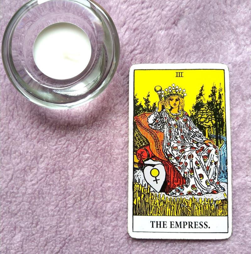 Мать карточки Tarot императрицы быть матерью женщины мать-земли женственной бесплатная иллюстрация