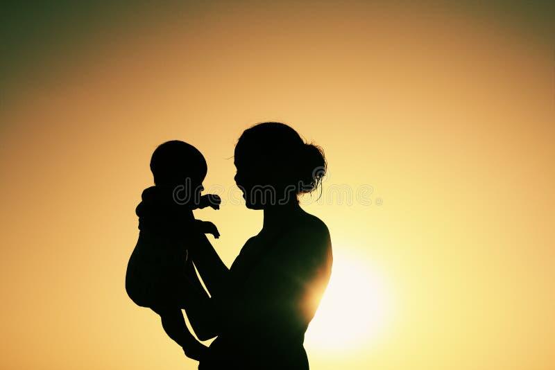 мать младенца стоковая фотография rf