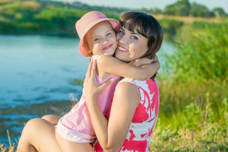 мать дочи маленькая стоковая фотография rf