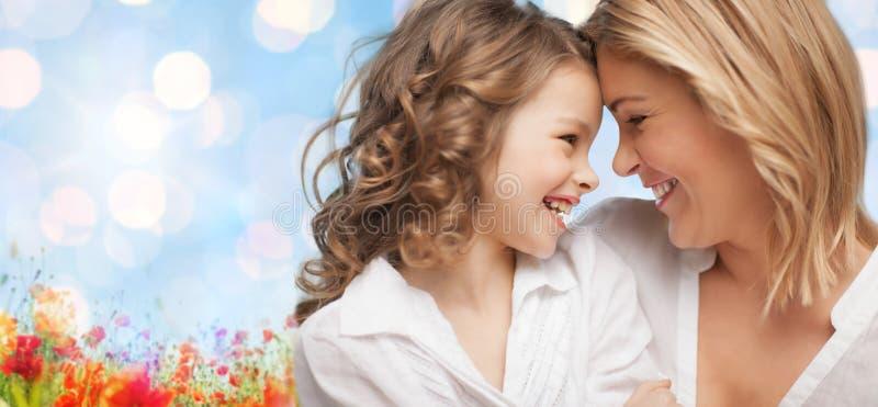 мать дочи счастливая стоковые фото