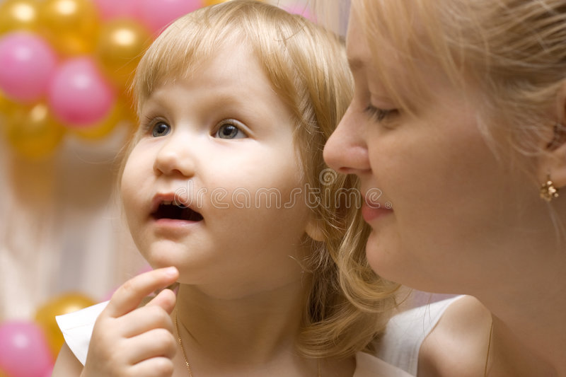 мать ребенка стоковые фото