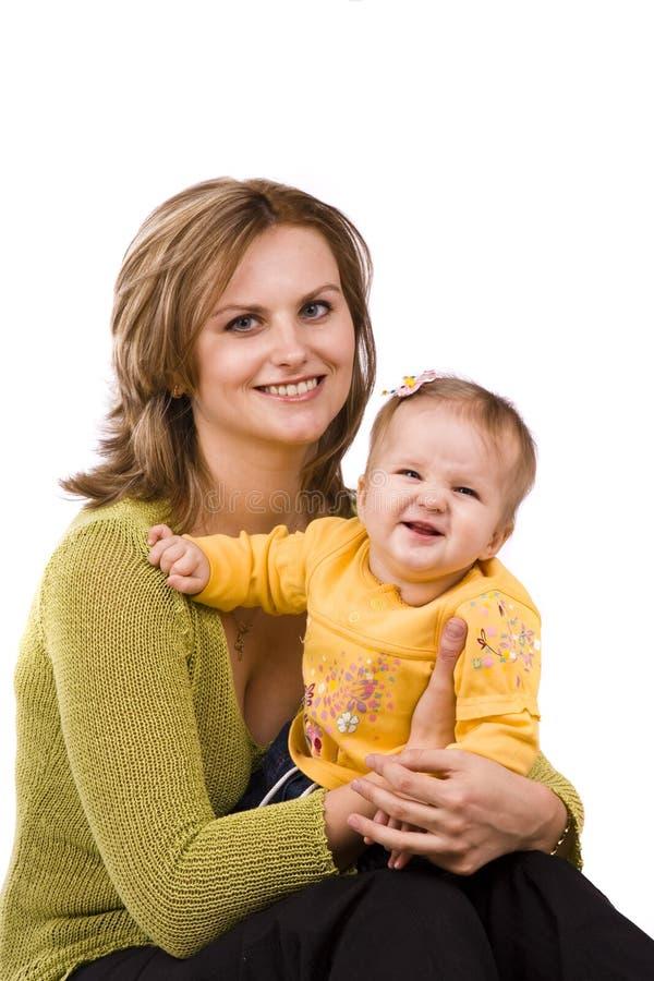 мать семьи дочи счастливая стоковое изображение rf