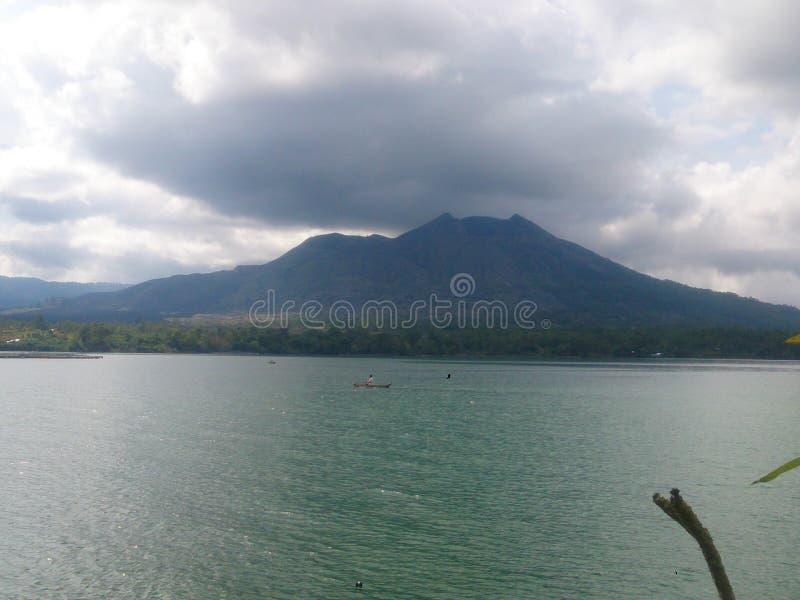 Маунт Batur стоковое фото rf