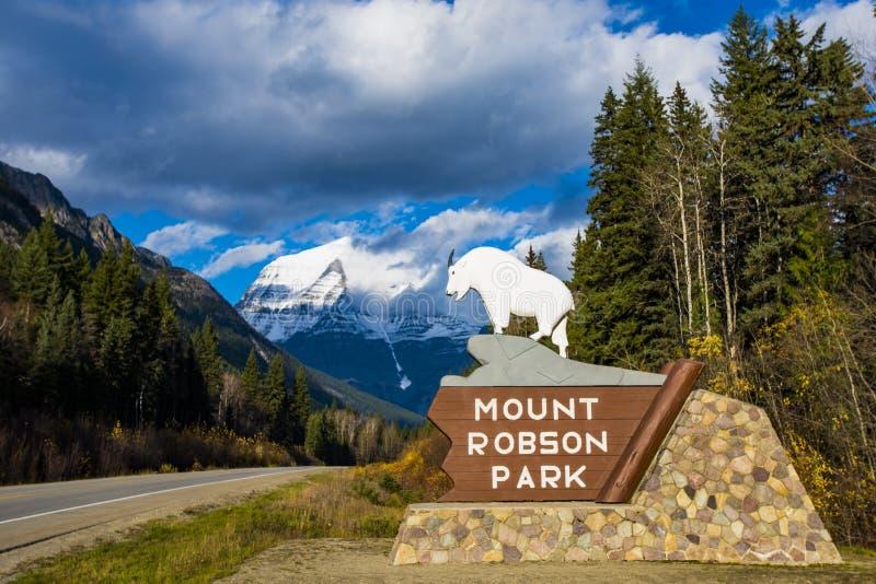 Маунт Robson стоковое изображение
