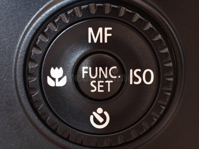 маховичок управления камеры стоковая фотография rf