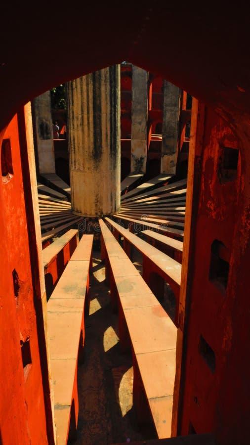 Машина времени Jantar mantar на Дели стоковое изображение