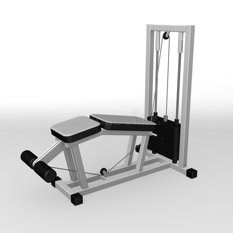 машина гимнастики бесплатная иллюстрация