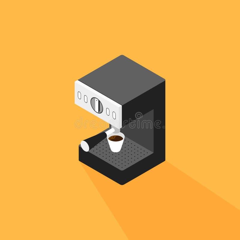 Машина кофе делая чашку кофе равновеликий бесплатная иллюстрация