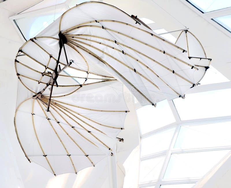 Машина летания Da Vinci первая
