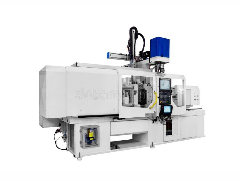 Машина продукции для продуктов изготовления от технологии штранг-прессования pvc пластичной стоковое фото rf
