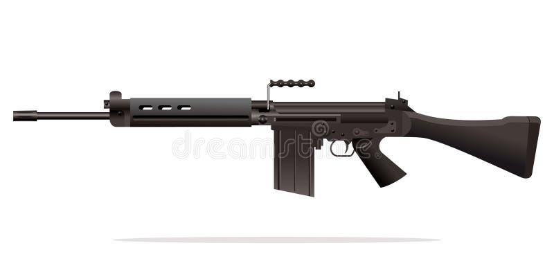 машина пушки иллюстрация вектора