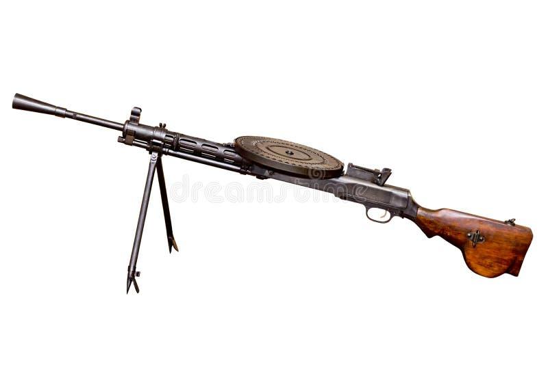 машина света пушки degtyarev стоковая фотография
