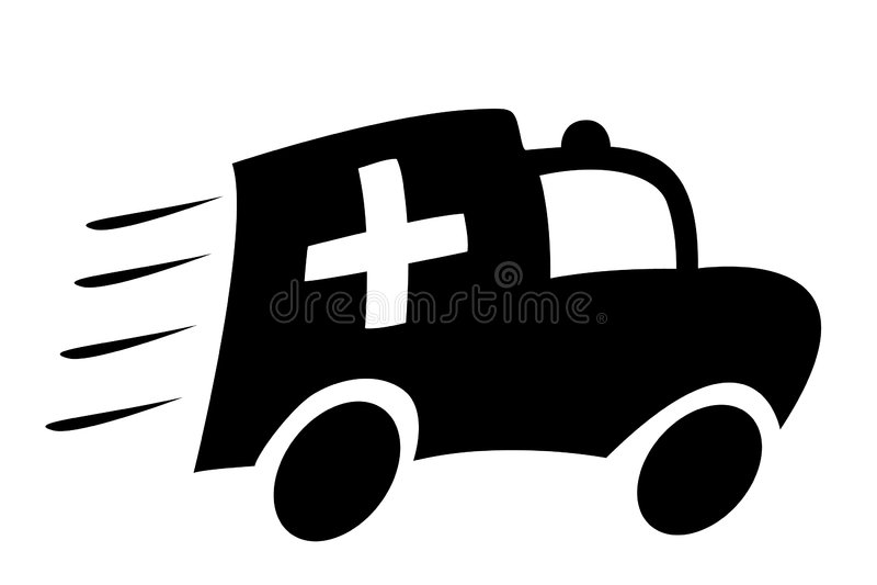 машина скорой помощи бесплатная иллюстрация