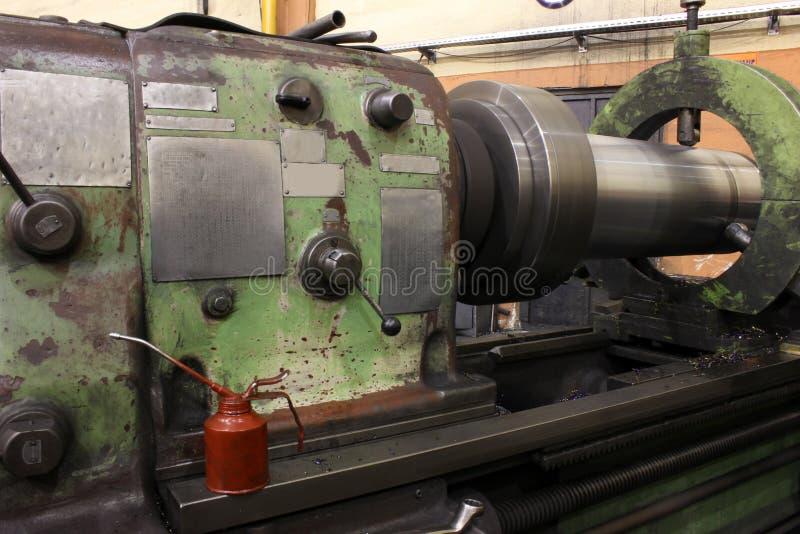 Машина токарного станка стоковое изображение