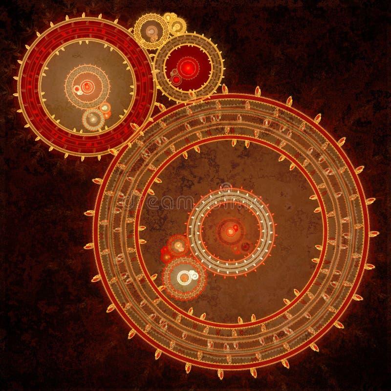 Машина clockwork Steampunk бесплатная иллюстрация