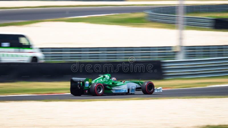Машина Jaguar R5, Формула 1 стоковые фото