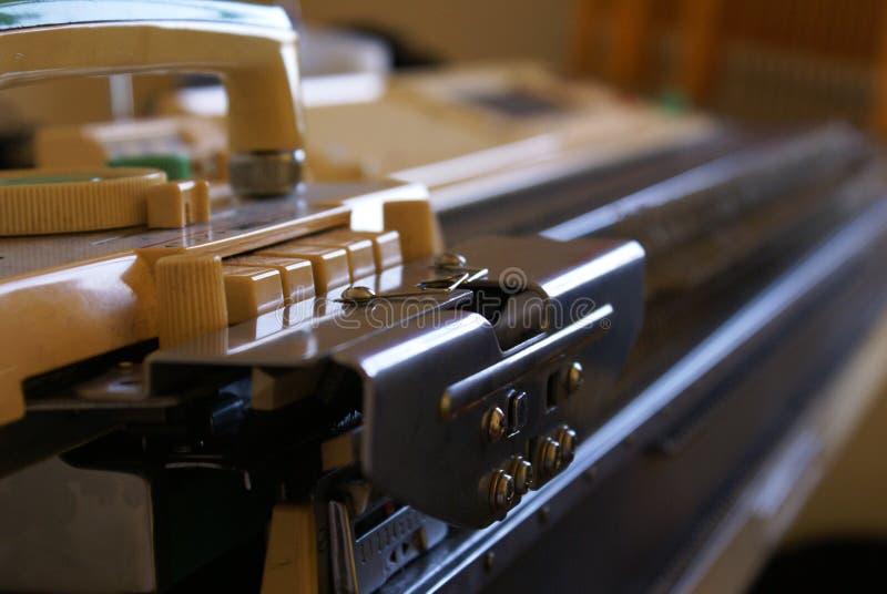 машина knit стоковая фотография rf