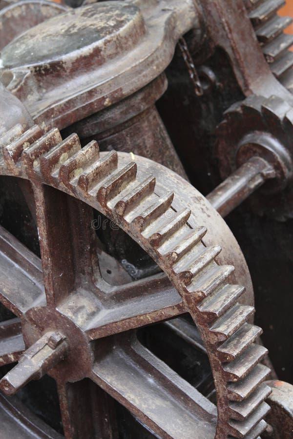 машинное оборудование старое стоковое изображение rf