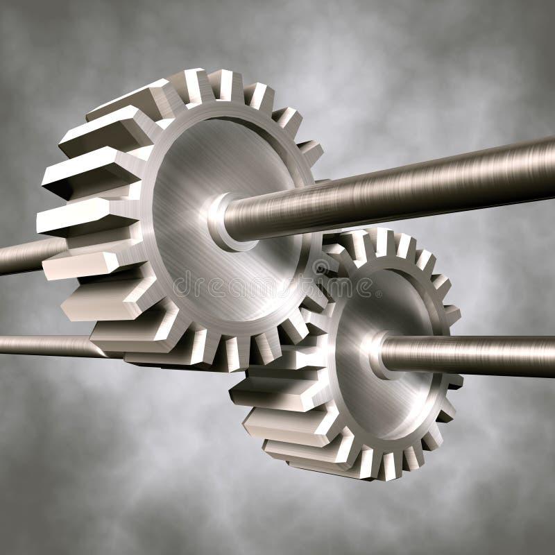 машинное оборудование иллюстрация вектора
