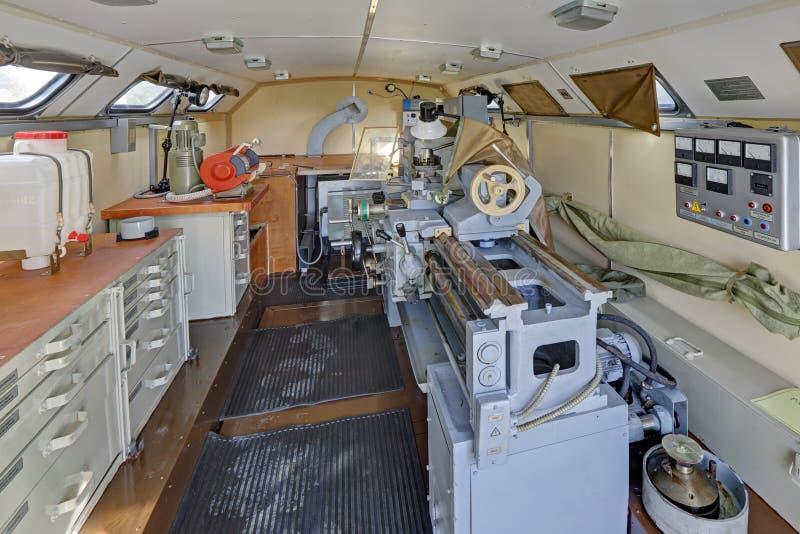 Машинное оборудование и мастерская ремонта стоковое изображение rf
